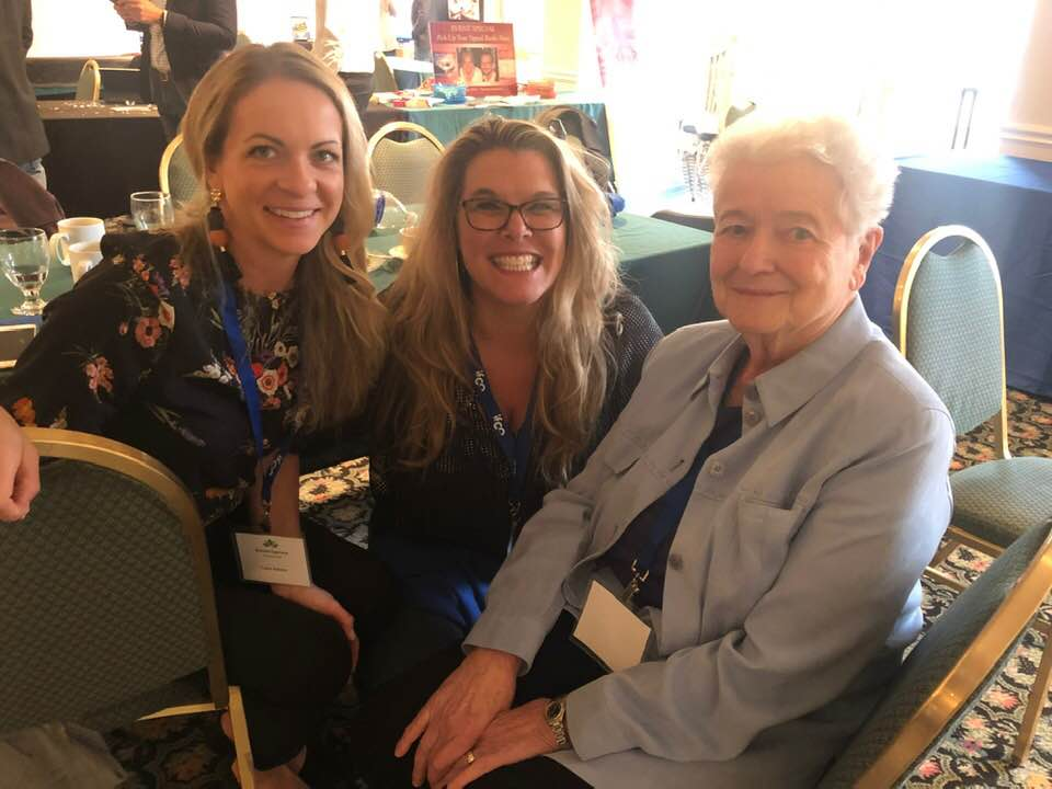 Drs Laura Rehmer, Irene Gold and I at the Berkshires