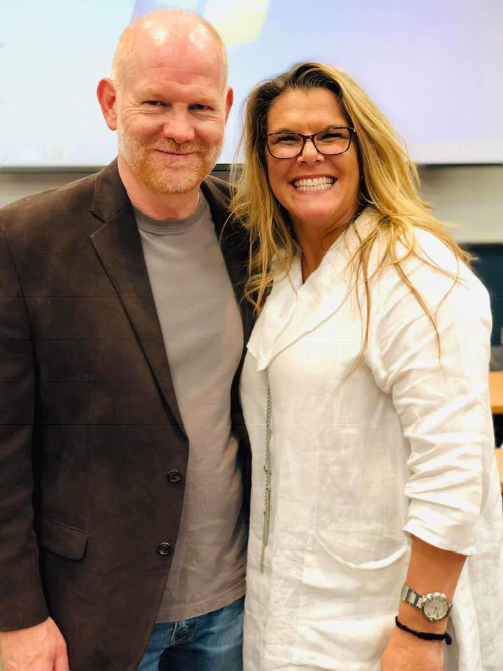 Hollywood Actor Glenn Morshower and I at the Boot Camp Women's Summit