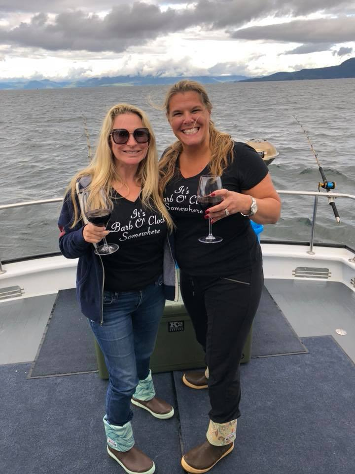 LIVE LARGE! Boot Camper Amanda Apfelblat and I in Ketchikan, AK